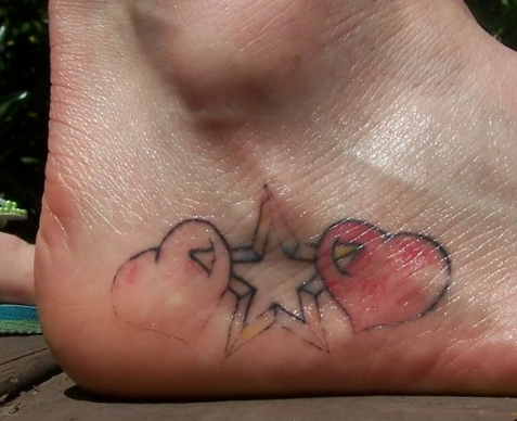 Foot Tattoo Pain